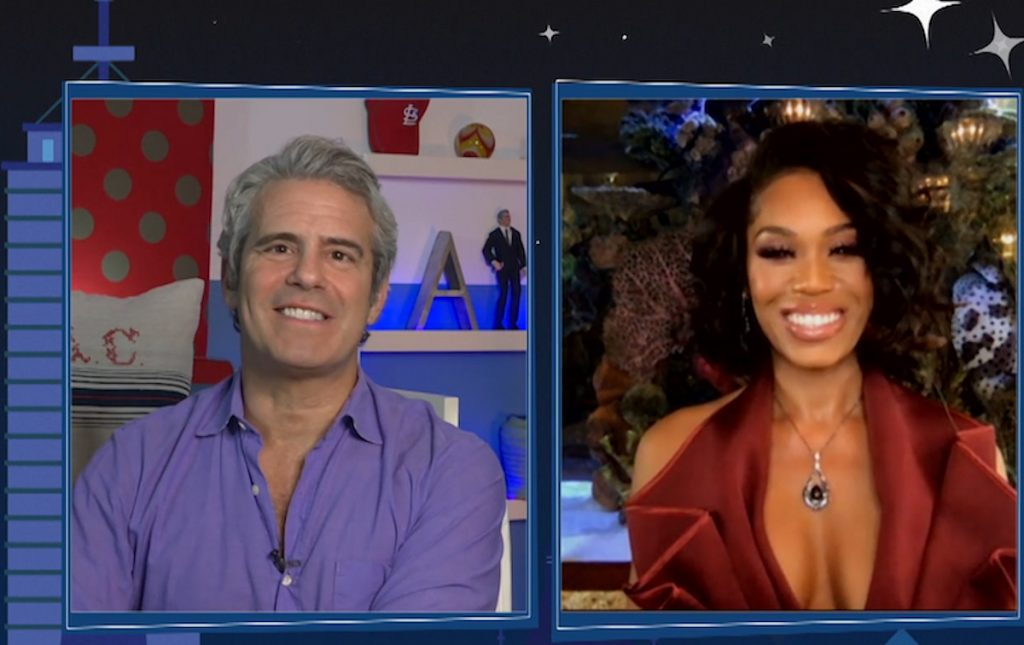 Monique Samuels shares whether she feels Andy Cohen is taking Candias Dillard's side during her 'RHOP' encounter