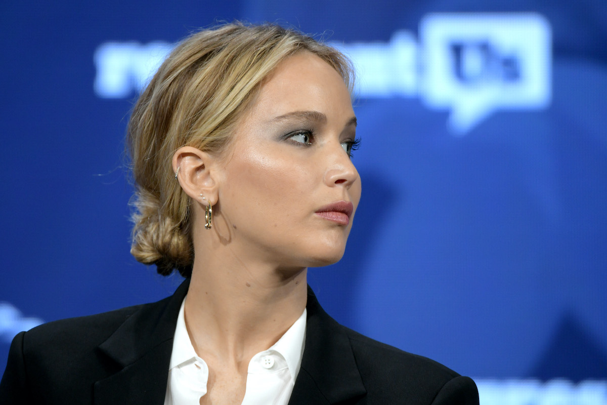 Jennifer Lawrence at the 2018 Concordia Annual Summit