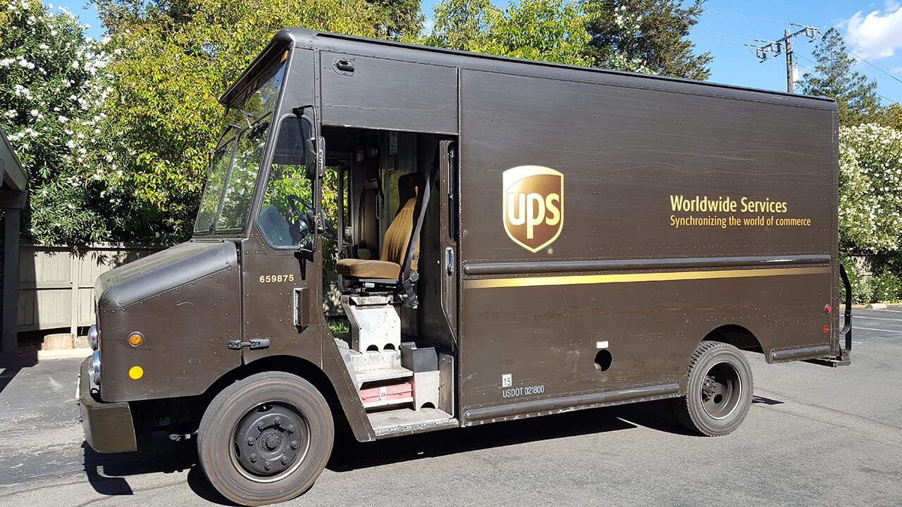 UPS driver fired after video showed racist sermon at the home of a Latino police officer